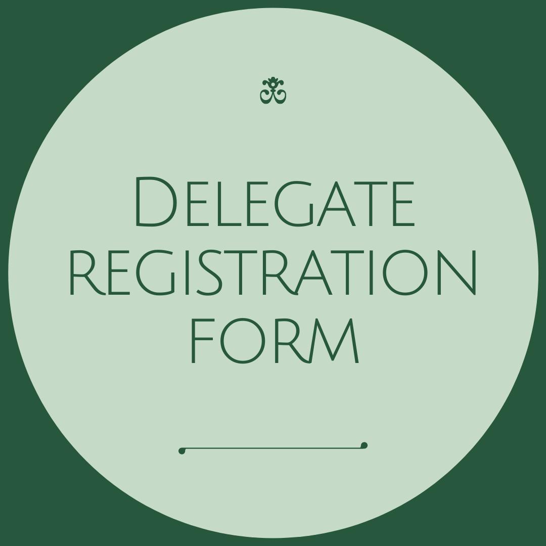 1Delegate Registration Form