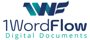 1WordFlow Logo