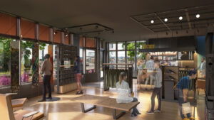 retail space in Grandview Station
