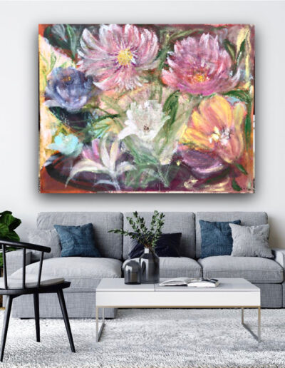 Painting by Asya Colie in Home