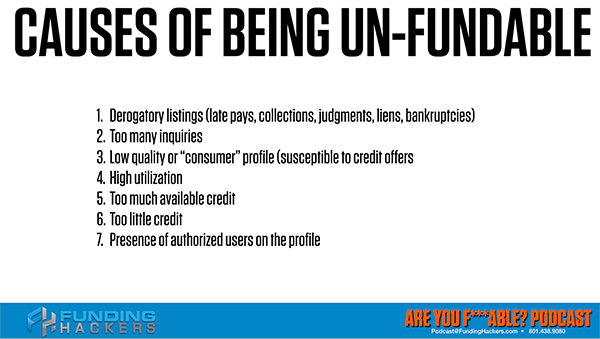 AYF 8 | Being Unfundable