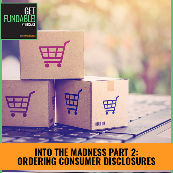 AYF 60   Ordering Consumer Disclosures
