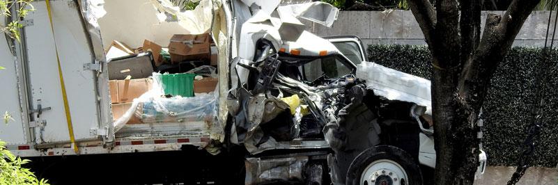 Amazon truck accident