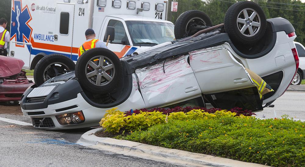 missing rollover crash driver