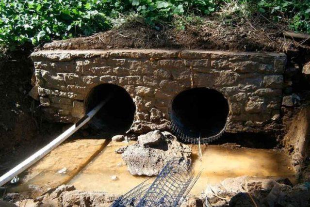 culvert-sewer before