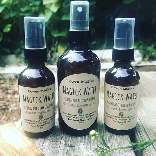 Magick Water_Florida Water_House of Healer