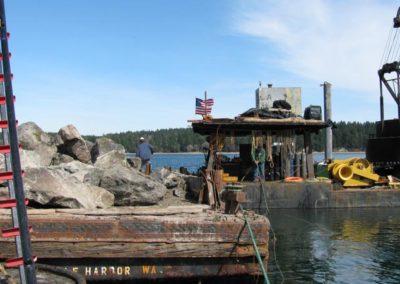 Squazin Island Bulkhead Removal