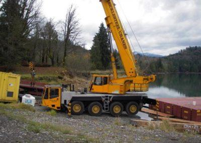 Shannon Lake Job Mobilization