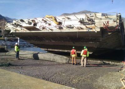 Rocky Reach Dam Steel Floating Caisson Rehabilitation