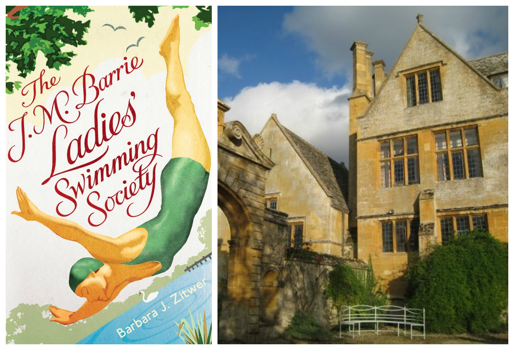 April Book Club: The J.M. Barrie Ladies' Swimming Society