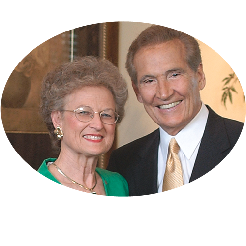 Mrs. Adrian Rogers—wife of the late pastor, author, founder of Love Worth Finding Ministries