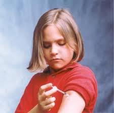 diabetic child