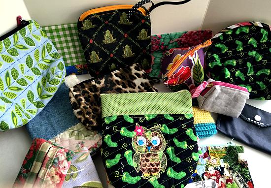 handmade cosmetic bags donate cosmetics to women in need