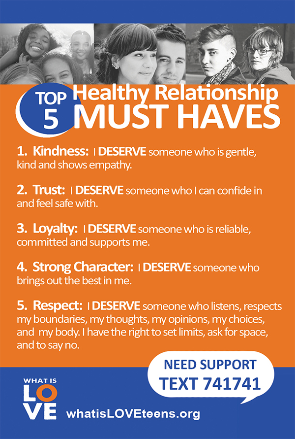 Relationship Must Haves