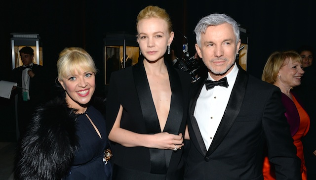 Carey Mulligan, Baz Luhrmann Tiffany & Co. Blue Book Ball at Rockefeller Center on April 18, 2013 in New York City. (Photo by Andrew H. Walker/Getty Images for Tiffany & Co.)
