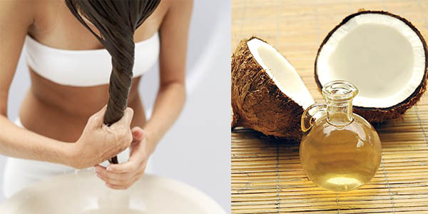 Coconut oil for hair Indian beauty