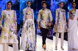 Manish Malhotra Lakme Fashion Week summer 2014 trends