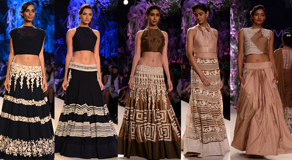 Manish Malhotra indian bridal lakme fashion week 2014