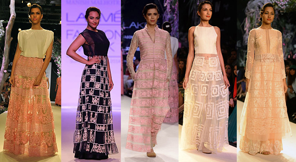 manish malhotra lakme fashion week summer 2014 indian fashion