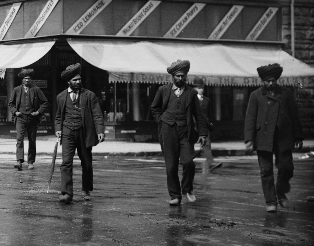 Early Indian Sikh pioneers vancouver