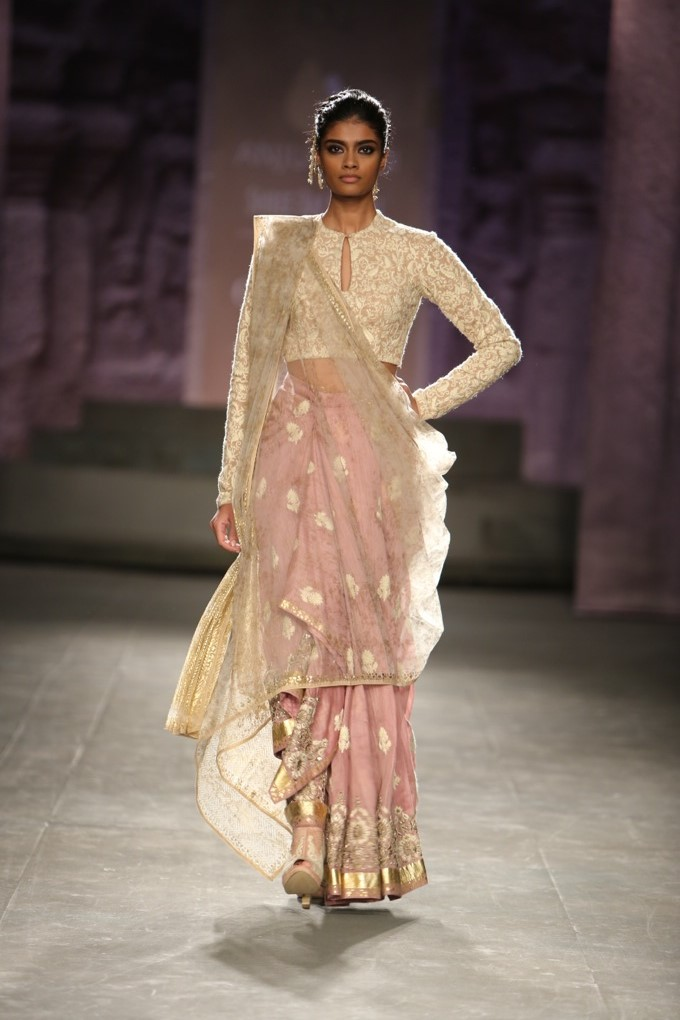 Anju Modi India Couture Fashion Week 2014 sari