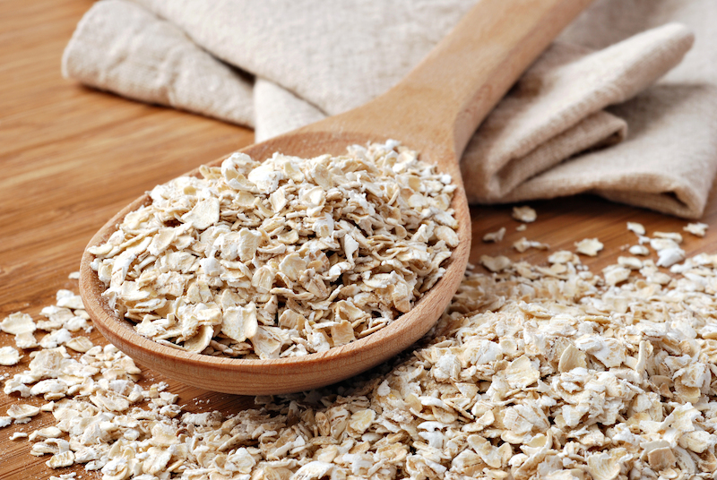 DIY Oat face mask