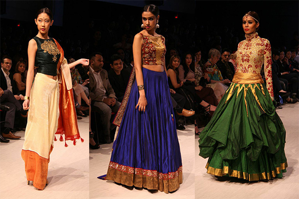 Shravan Kumar Indian designer Vancouver Fashion Week