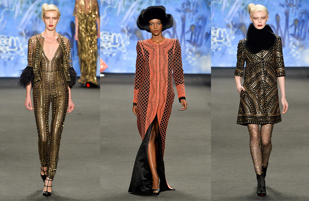 New York Fashion Week Fall 2015 Naeem Khan