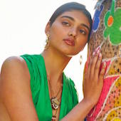 Anthropologie Spring 2015 Neelam Gill South Asian model