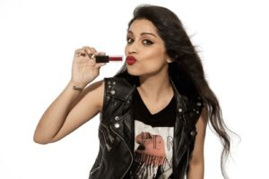 lilly singh iisuperwomanii smashbox lipstick