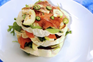 salmon guava salad recipe
