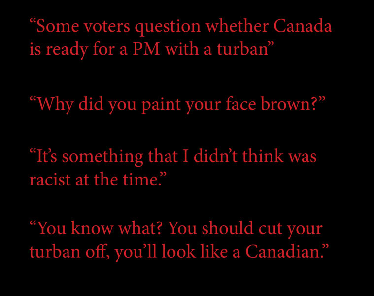 Racism Canadian Election 2019