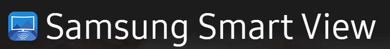 Screenshot of Samsung Smart View Icon
