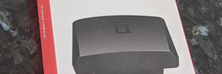 Nonda Zus OBD2 Reader Box on Counter