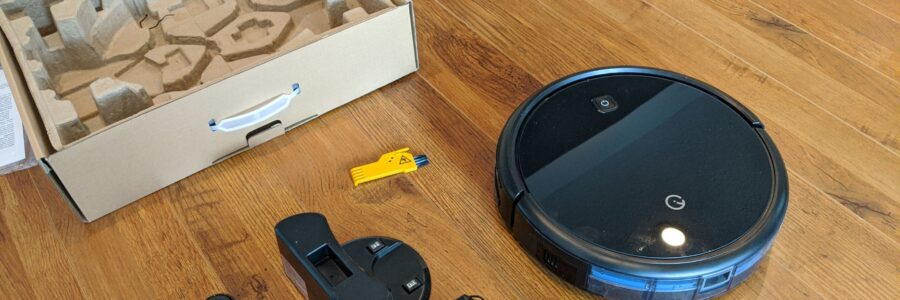 Yeedi K600 Robot Vacuum Cleaner Box Unopened with All Accessories