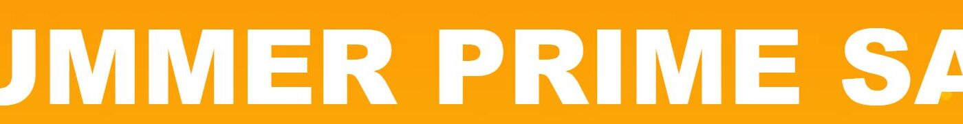 Banner for Banggood Summer Prime Sale