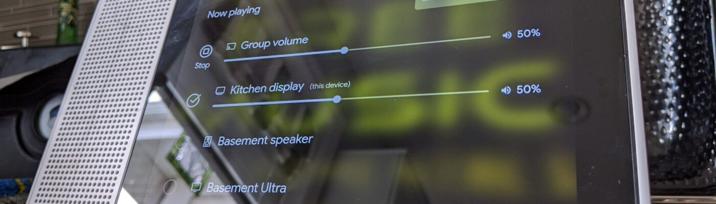 Lenovo Smart Display with Multi-room audio feature