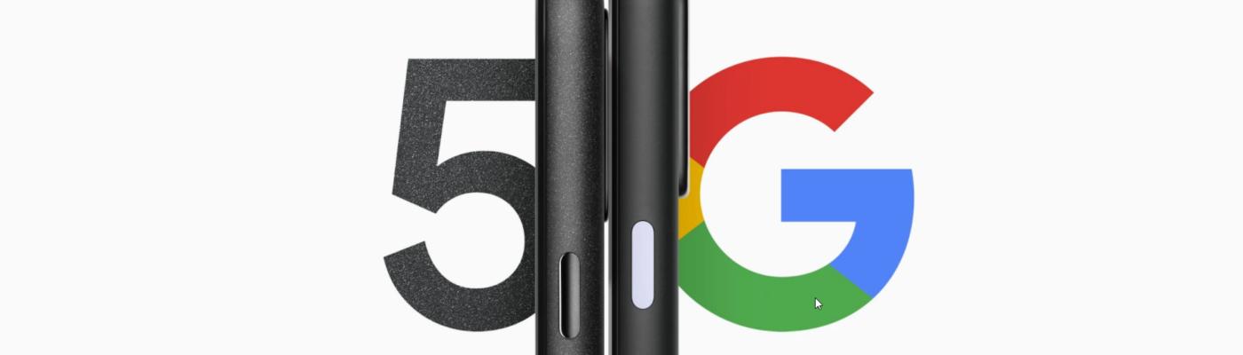 Screenshot of Pixel 5G
