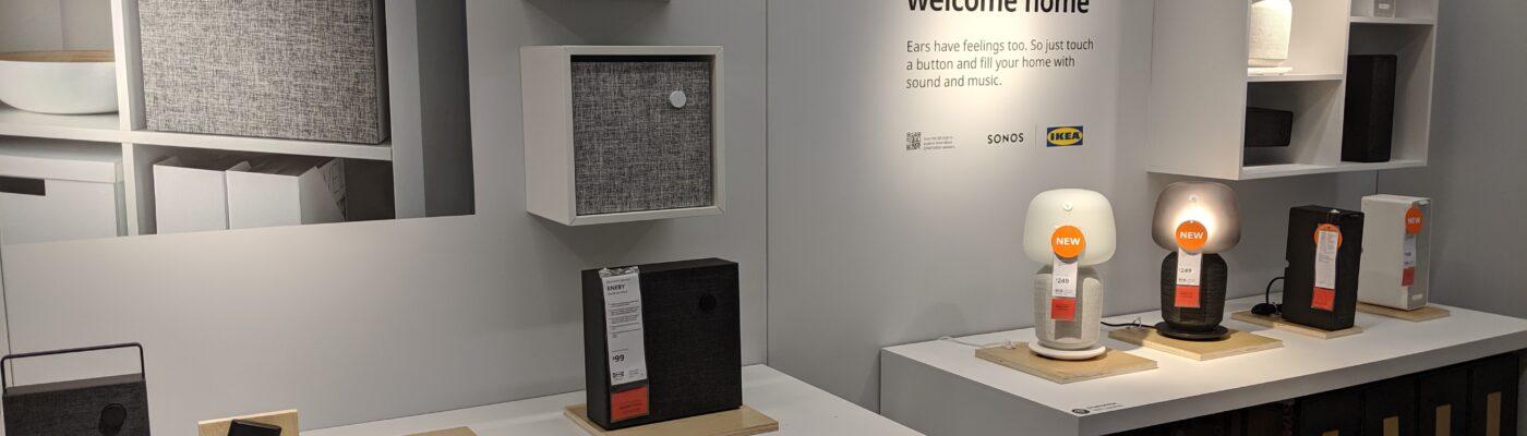 Ikea Smart Home Products Showroom