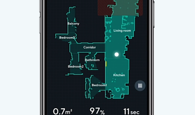 Wyze Robot Vacuum Area Mapping on Wyze App