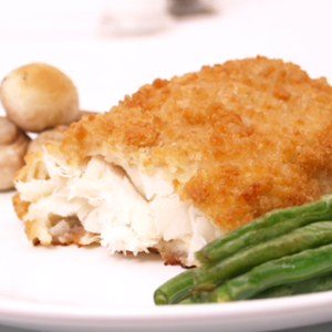 breaded cod loins