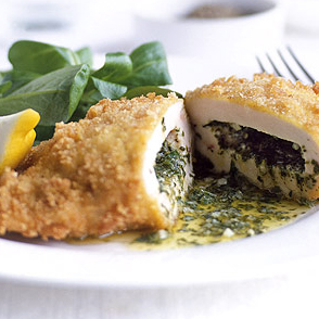 coated poultry boneless chicken kiev