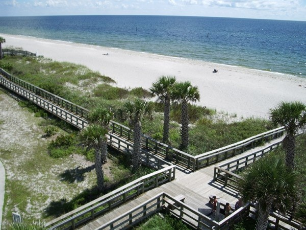 Englewood Beach Boardwalk