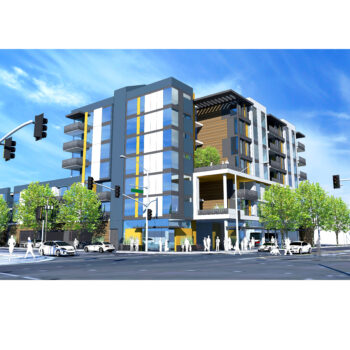 Rendering of Alum Rock in San Jose