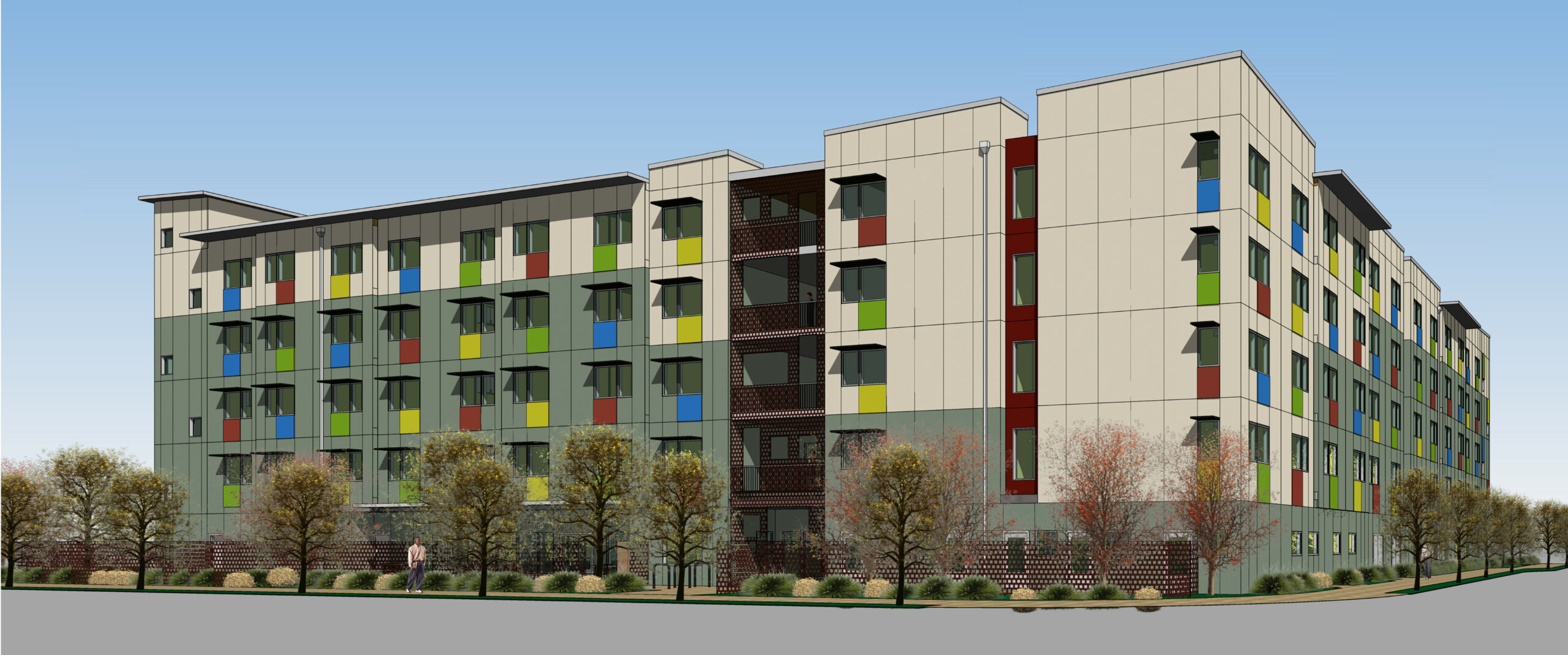 Rendering of Corvin development in Santa Clara