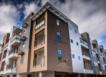 Photo of apartment building