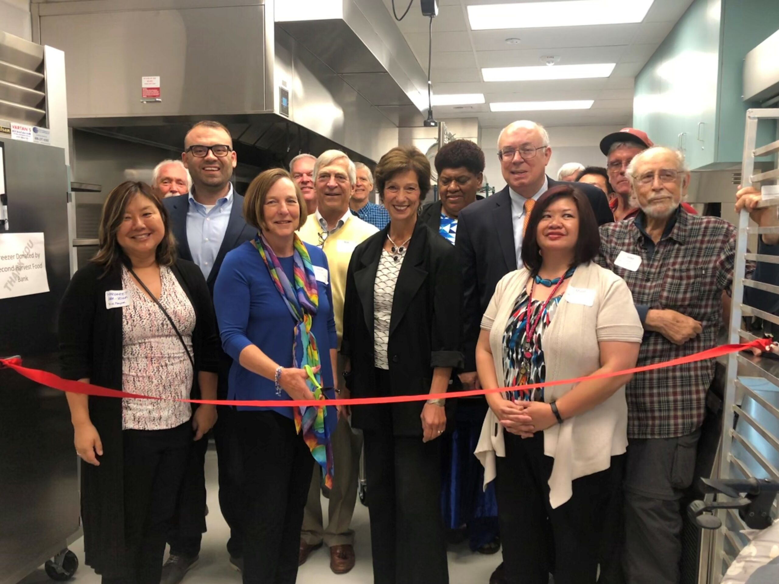 At the grand opening of Hope's Kitchen, May 15, 2019