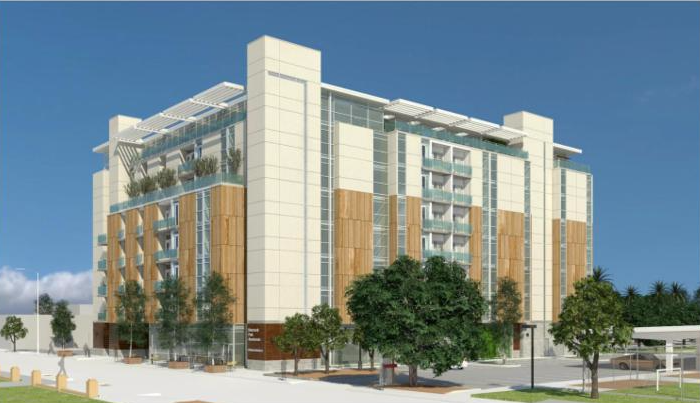 Rendering of Roosevelt Park Apartments