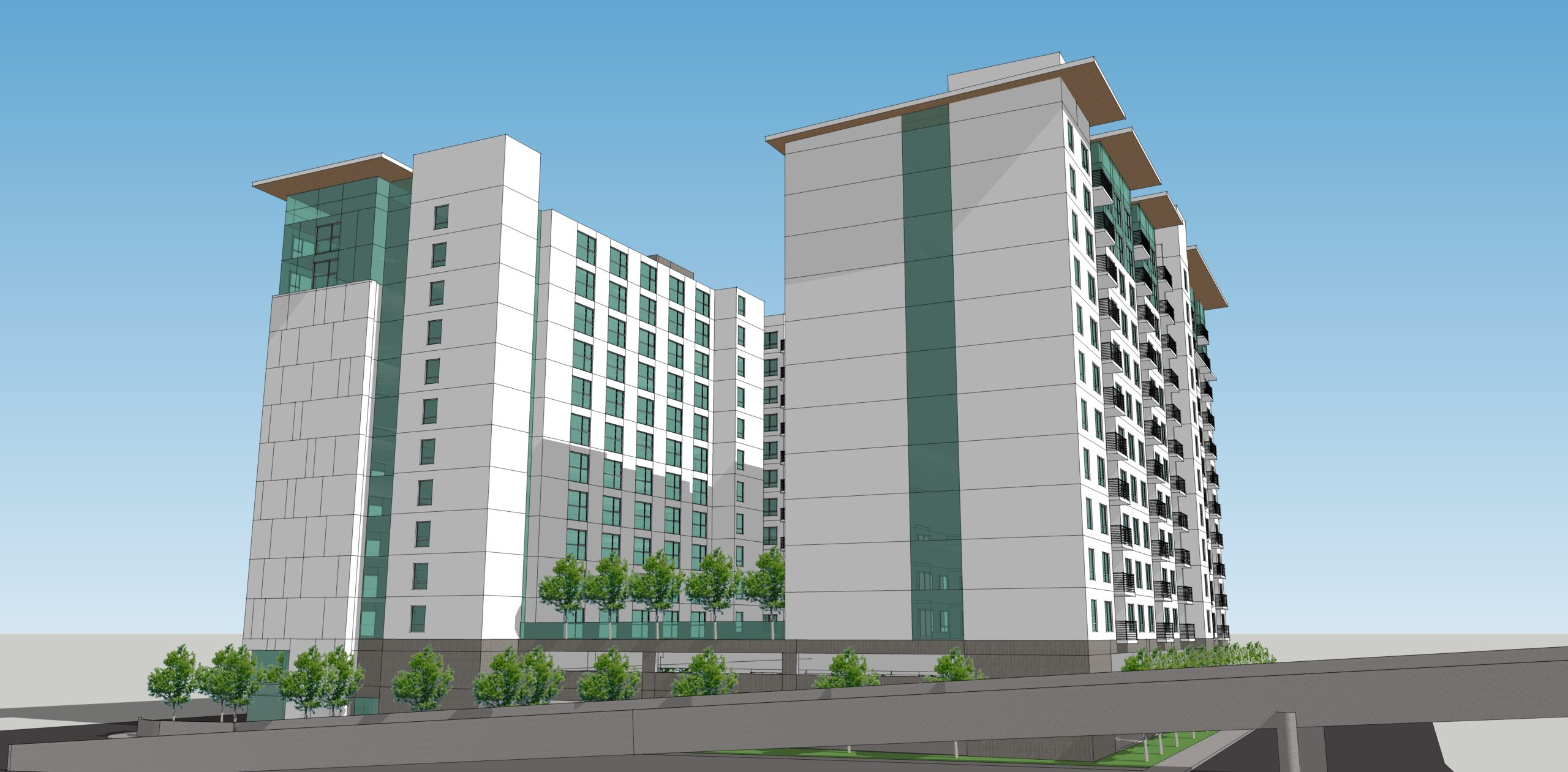 McEvoy Apartments preliminary concept