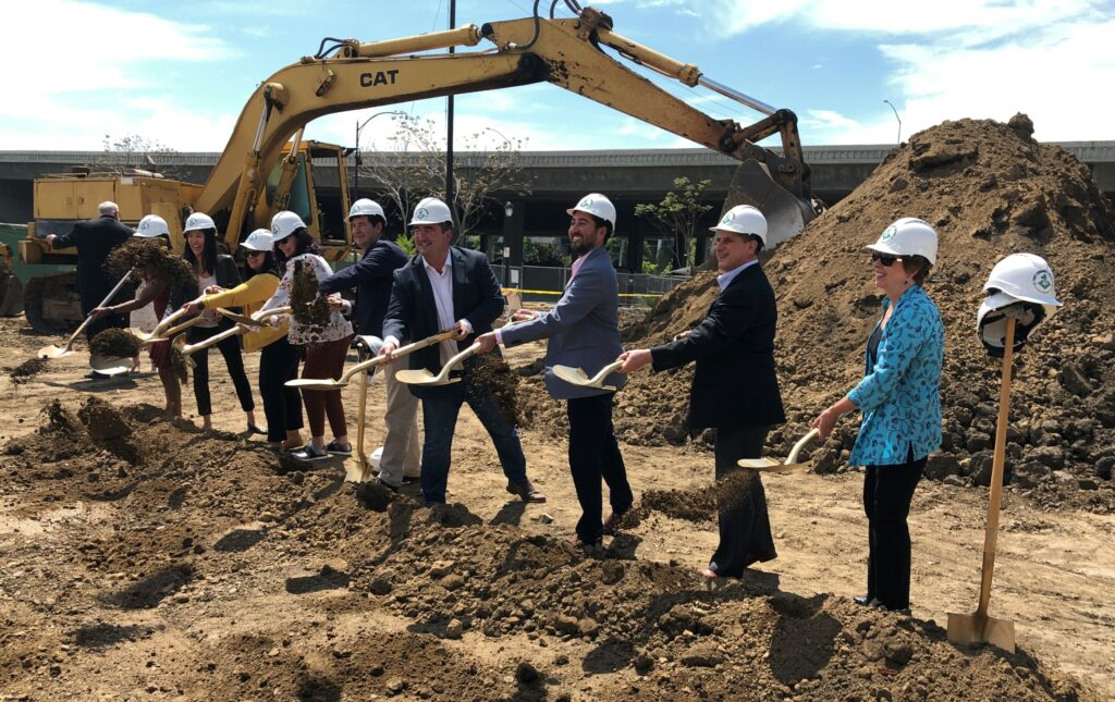 Groundbreaking at North San Pedro Apartments